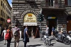 Subway Sandwich Store in Florence next to Antico Caffe Cavour.jpg