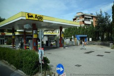 Agip Gas Station on Strada Statale 67 in Florence.jpg