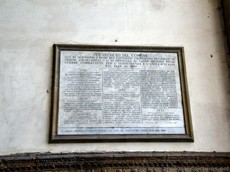 Plaque Honoring Italian Military in the mid 1800's at Loggia dei Lanzi.jpg